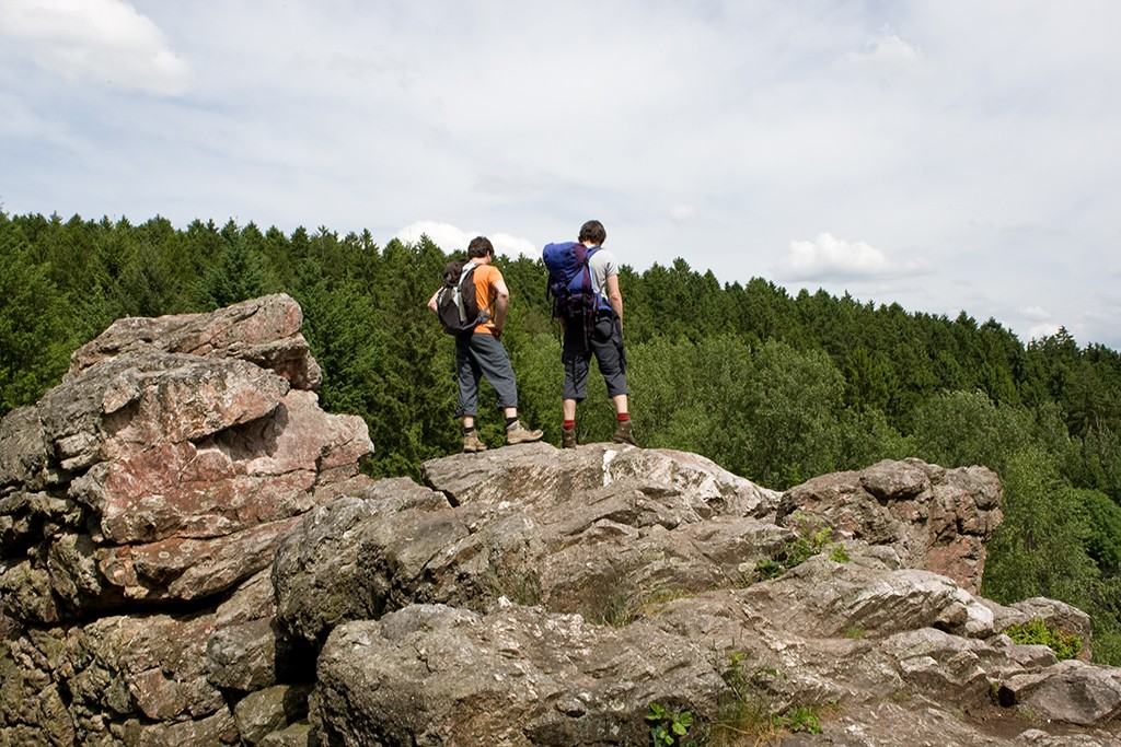 Felsenweg Wandern