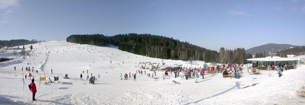 Skifahren Berghotel Maibrunn
