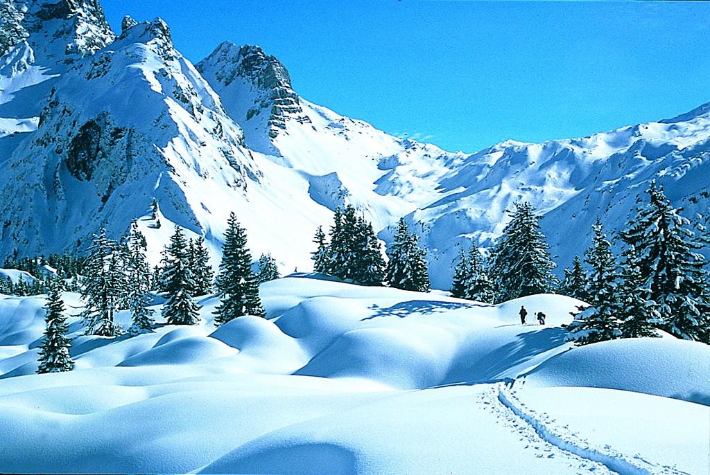 Skitour im Vorarlberg
